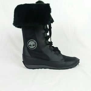 Timberland Grammercy Tall Lace Up Boot Sz 6.5